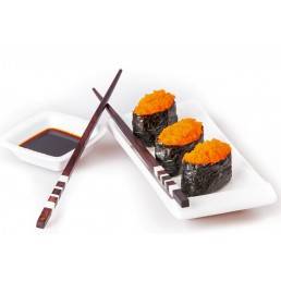 Tobiko orange sushi (3 buc)